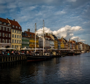 Nyhavn yesterday afternoon.